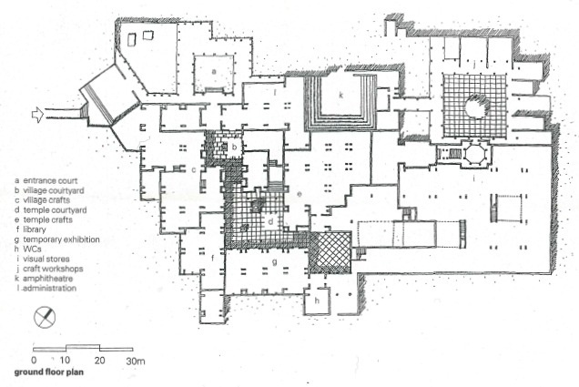 Crafts Museum In Delhi India By Charles Correa Architectural Review