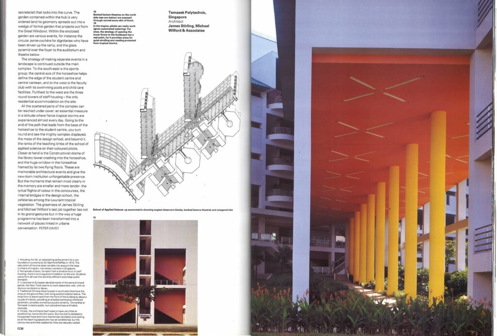 James Stirling Architectural Monographs and Michael Wilford