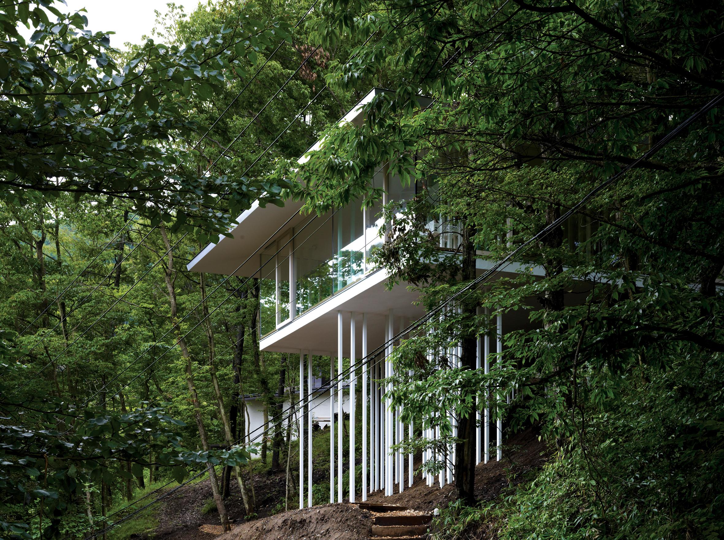 Square House By Tna Karuizawa Nagano Japan Architectural Review