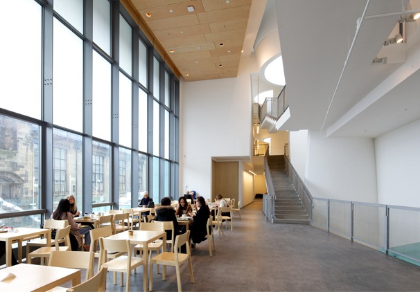 Reid Bulding Glasgow School Of Art Glasgow By Steven Holl Architectural Review