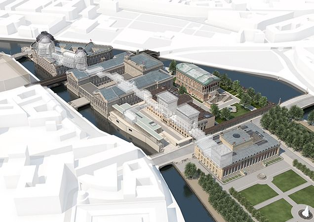 Curation Consumption Berlin S Museum Island Architectural Review