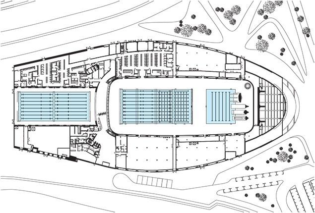 London Aquatics Centre By Zaha Hadid Architects Architectural Review