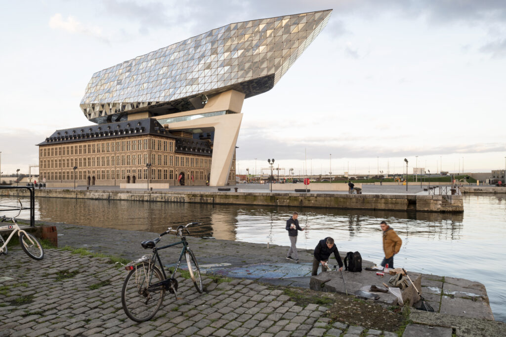 War Of The Worlds Port House Headquarters Antwerp Belgium By Zha Architectural Review