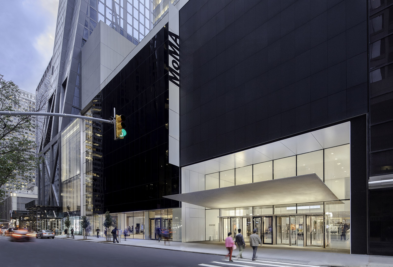 Museum of Modern Art renovation and expansion in New York City, USA by Diller Scofidio + Renfro in collaboration with Gensler