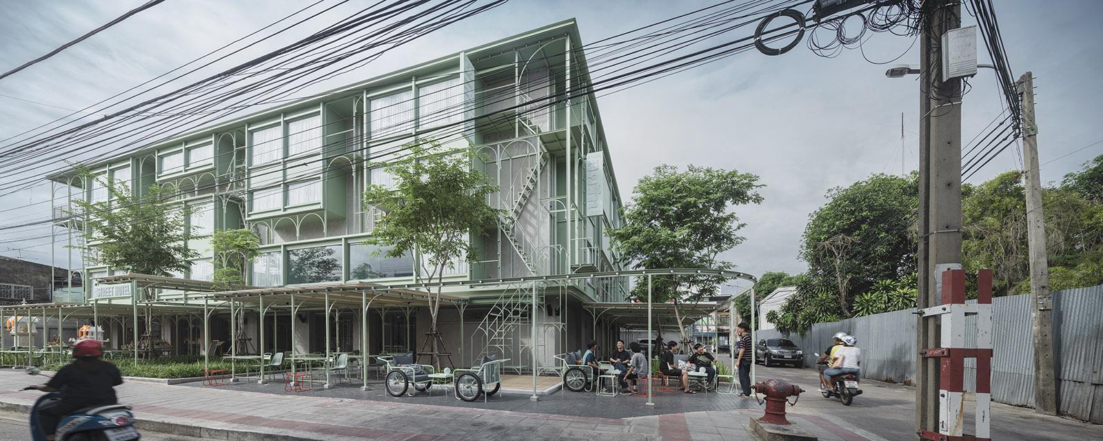 Samsen Street Hotel in Bangkok, Thailand, by CHAT Architects