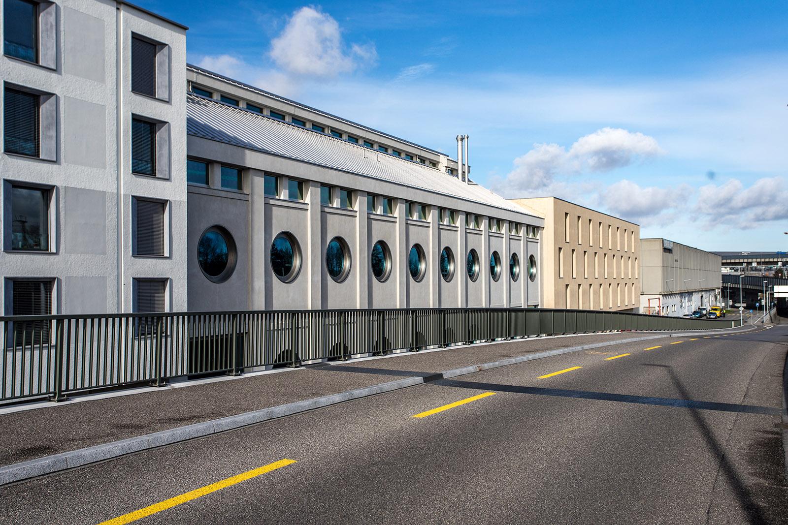 Silo Erlenmatt in Basel, Switzerland, by Harry Gugger Studio