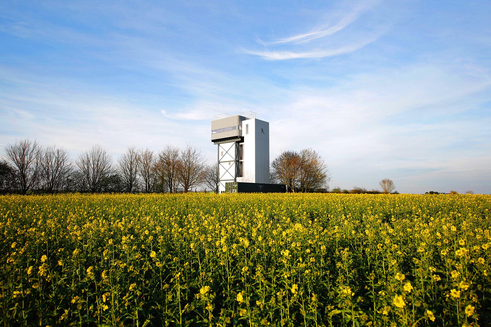 Water Tower in Castle Acre, UK by Tonkin Liu