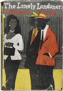 Sampul novel dari tahun 1950-an membaca 'The Lonely Londoners / Samuel Selvon'