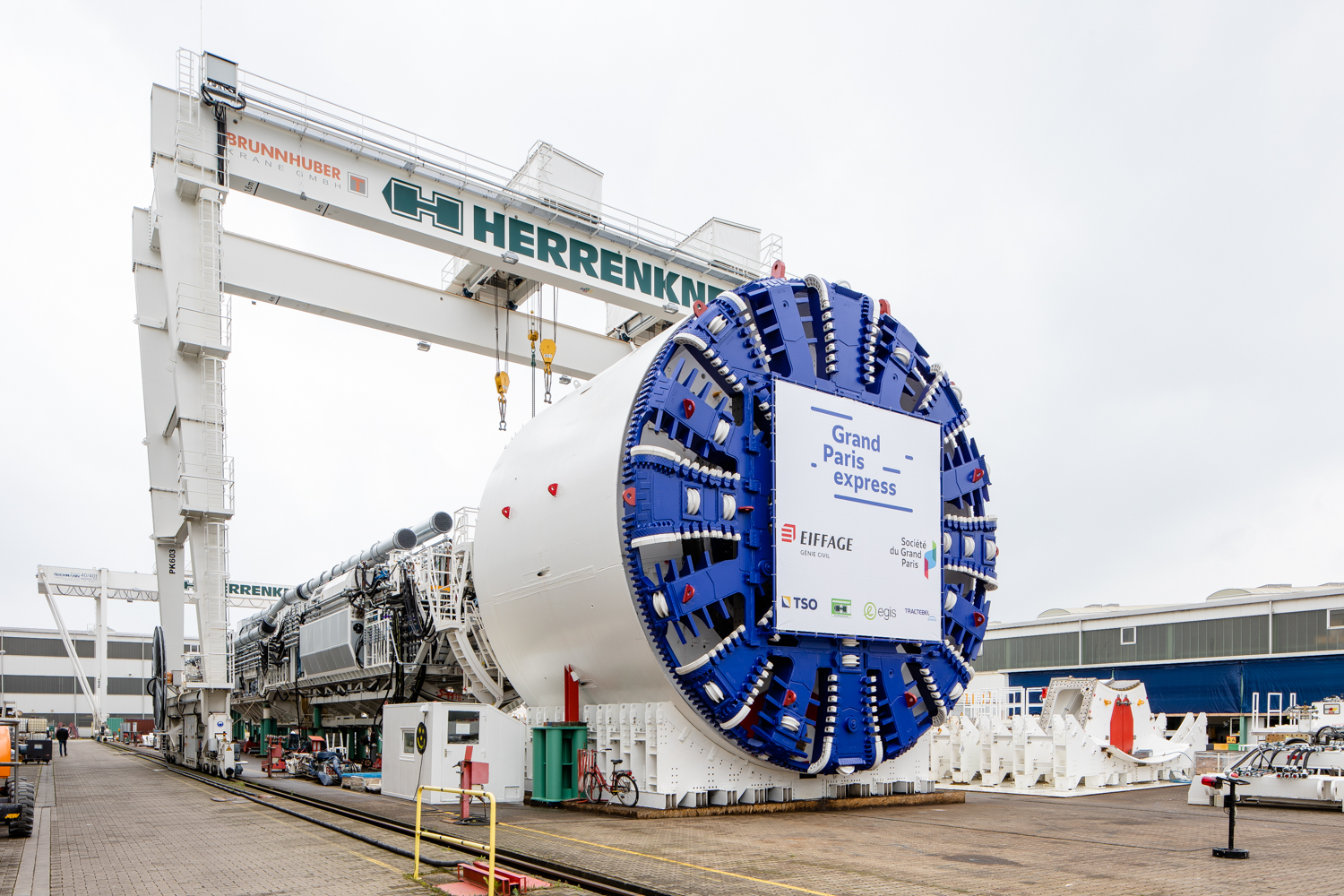 Gallery: First TBMs For Grand Paris' Line 16 Near