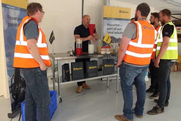 Epiroc offers drilling fluid training to optimise productivity