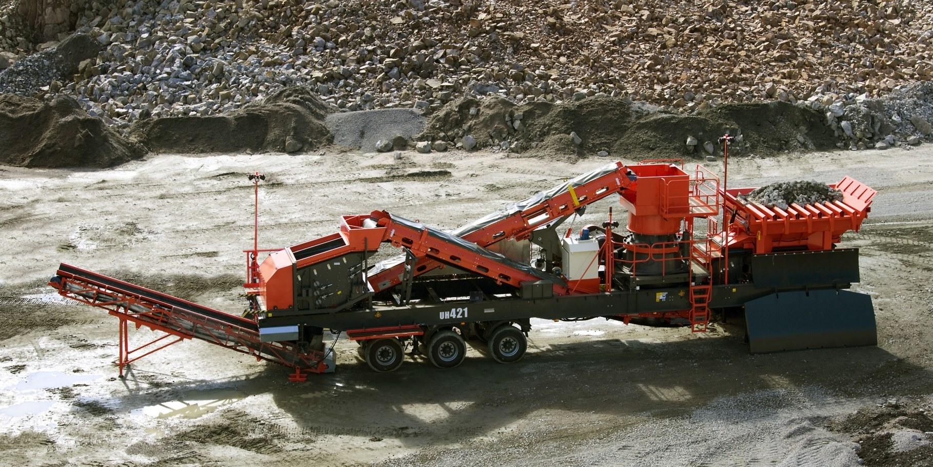 New crusher for Sandvik - Latest UK Construction News