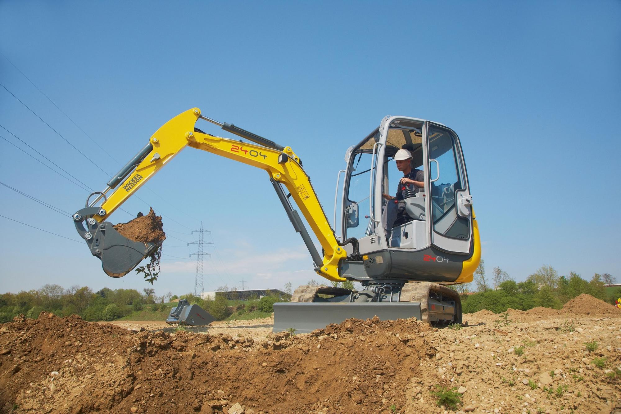 Wacker Neuson introduces new compact excavator - Construction News