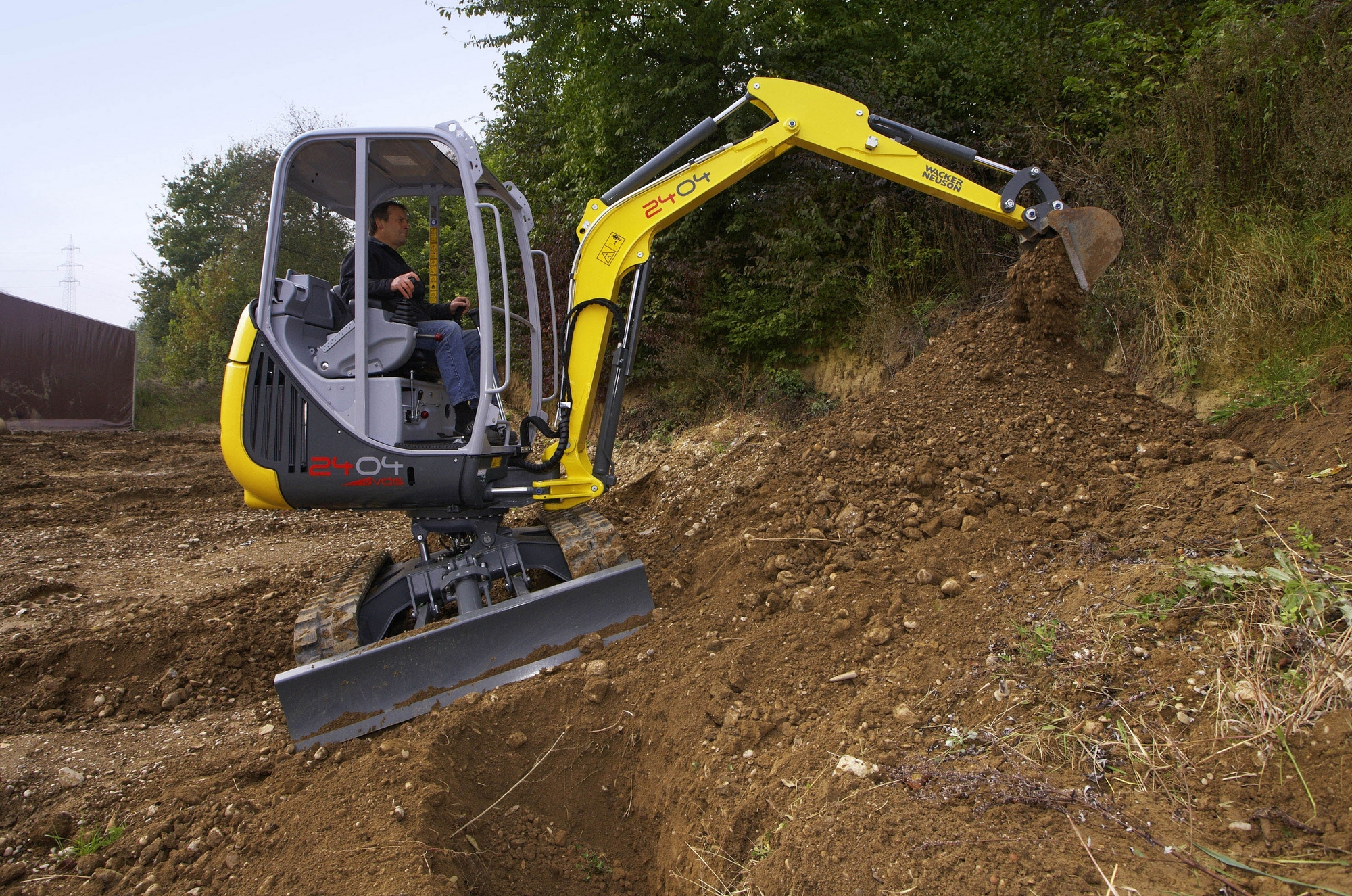 Wacker Neuson extends VDS to mini excavators - Construction News