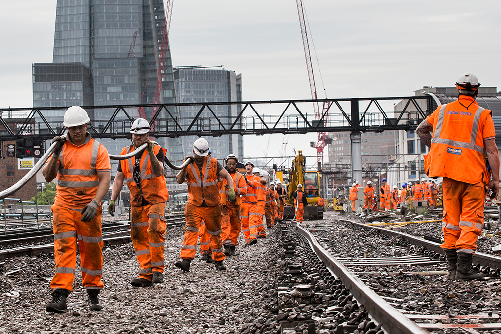 Network Rail's contractor league table revealed