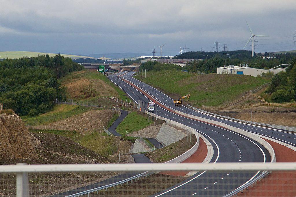 Carillion A65 Dualling section 3 Brynmawr to Tredegar 5