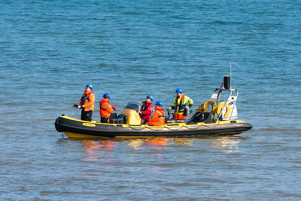 Network Rail employs drone to assess coastline resilience