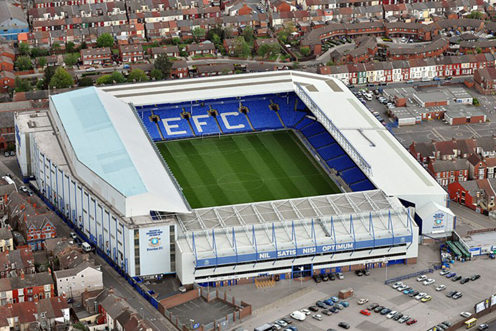 Everton Reveal Goodison Park Redevelopment Plans Construction News