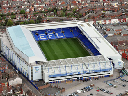 Everton FC lines up deal for £300m new stadium