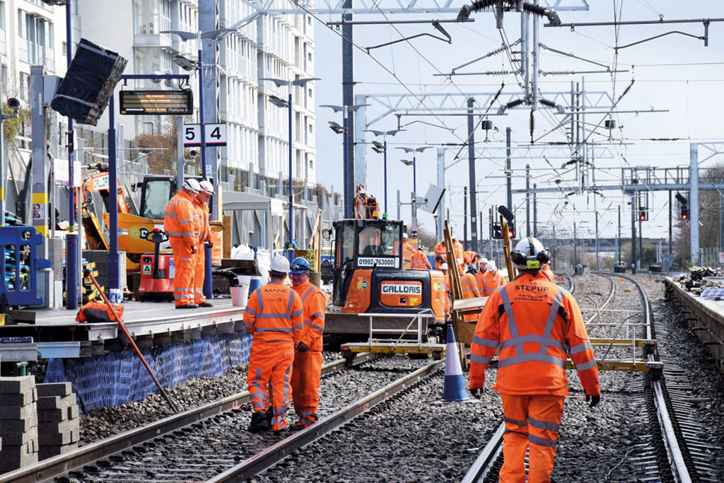 Network Rail publishes £1 4bn private project pipeline