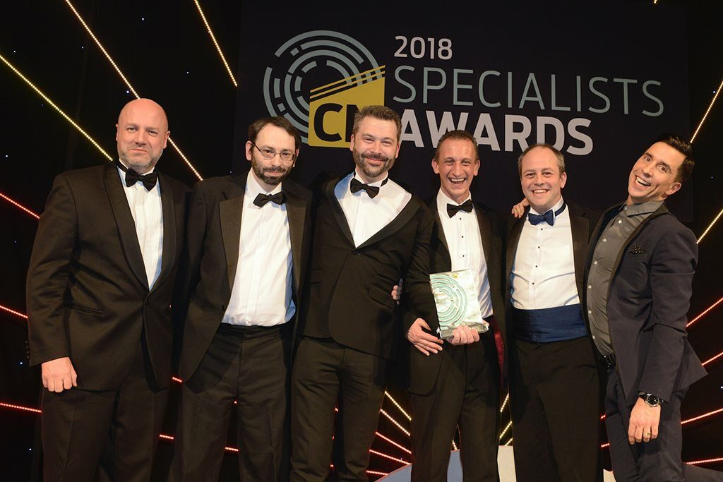 In pictures: Specialists Awards 2018 - Construction News