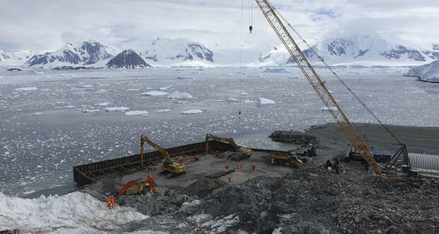 BAS Antarctica Rothera Wharf 2