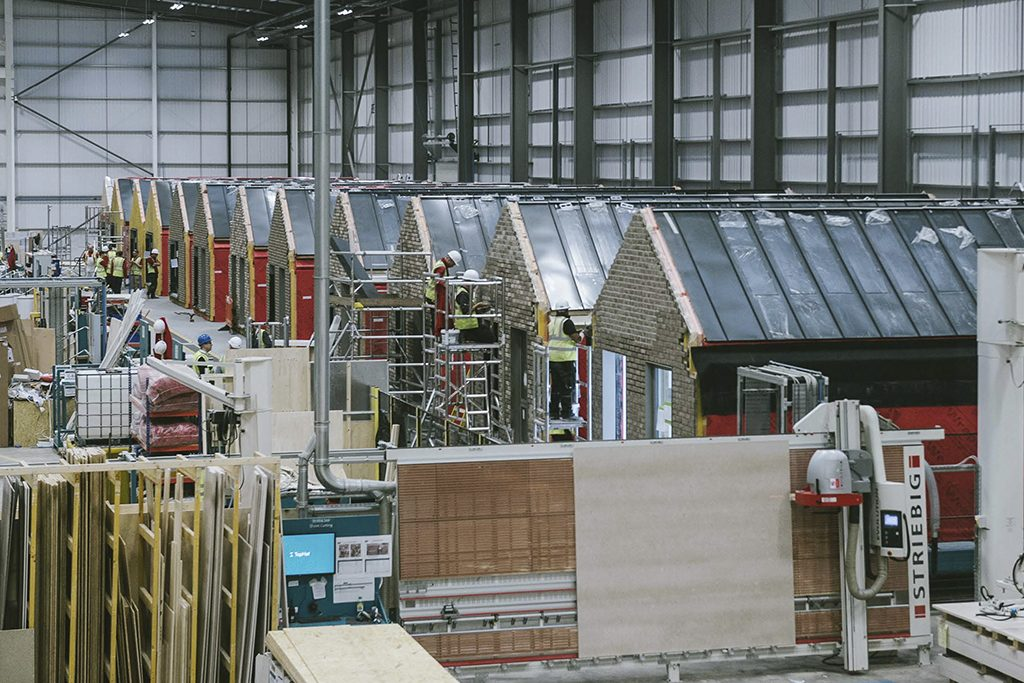 TopHat's modular factory