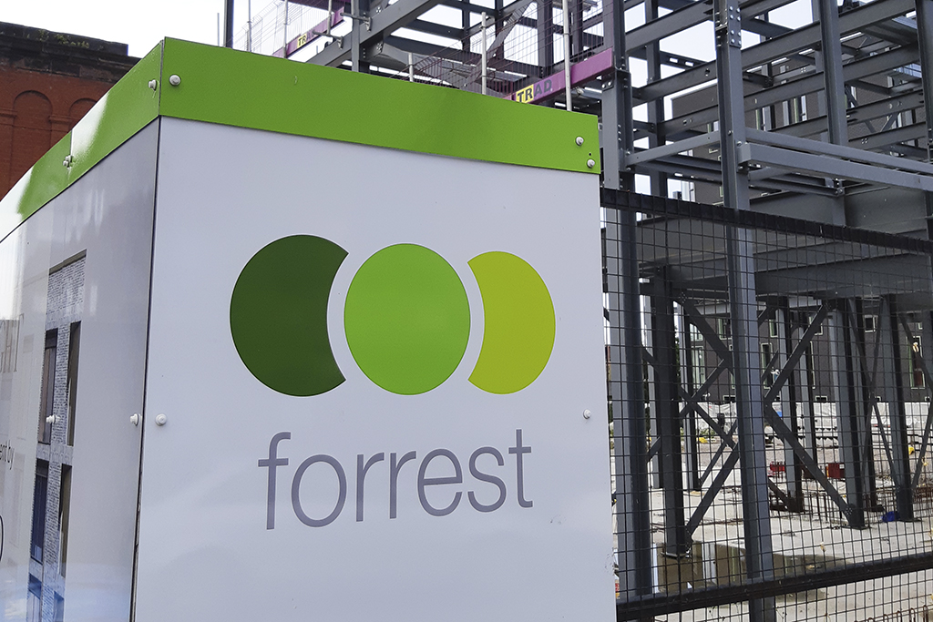 Collapsed contractor Forrest officially dissolved