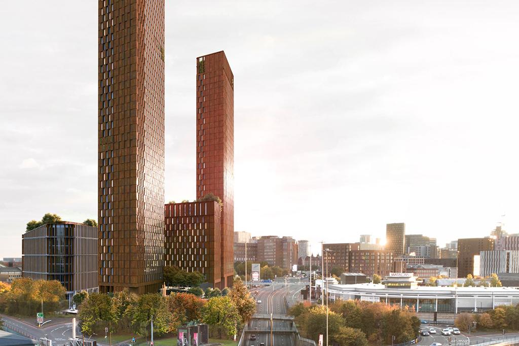 Plans for 53-storey 'net-zero' Birmingham tower unveiled