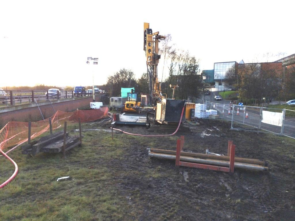 Ground stabilisation: Mine shaft threatens Oldham water mains - New