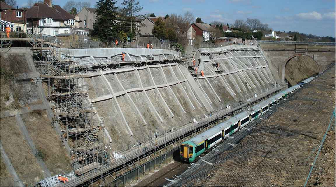 Hooley cutting: Steep challenge - New Civil Engineer