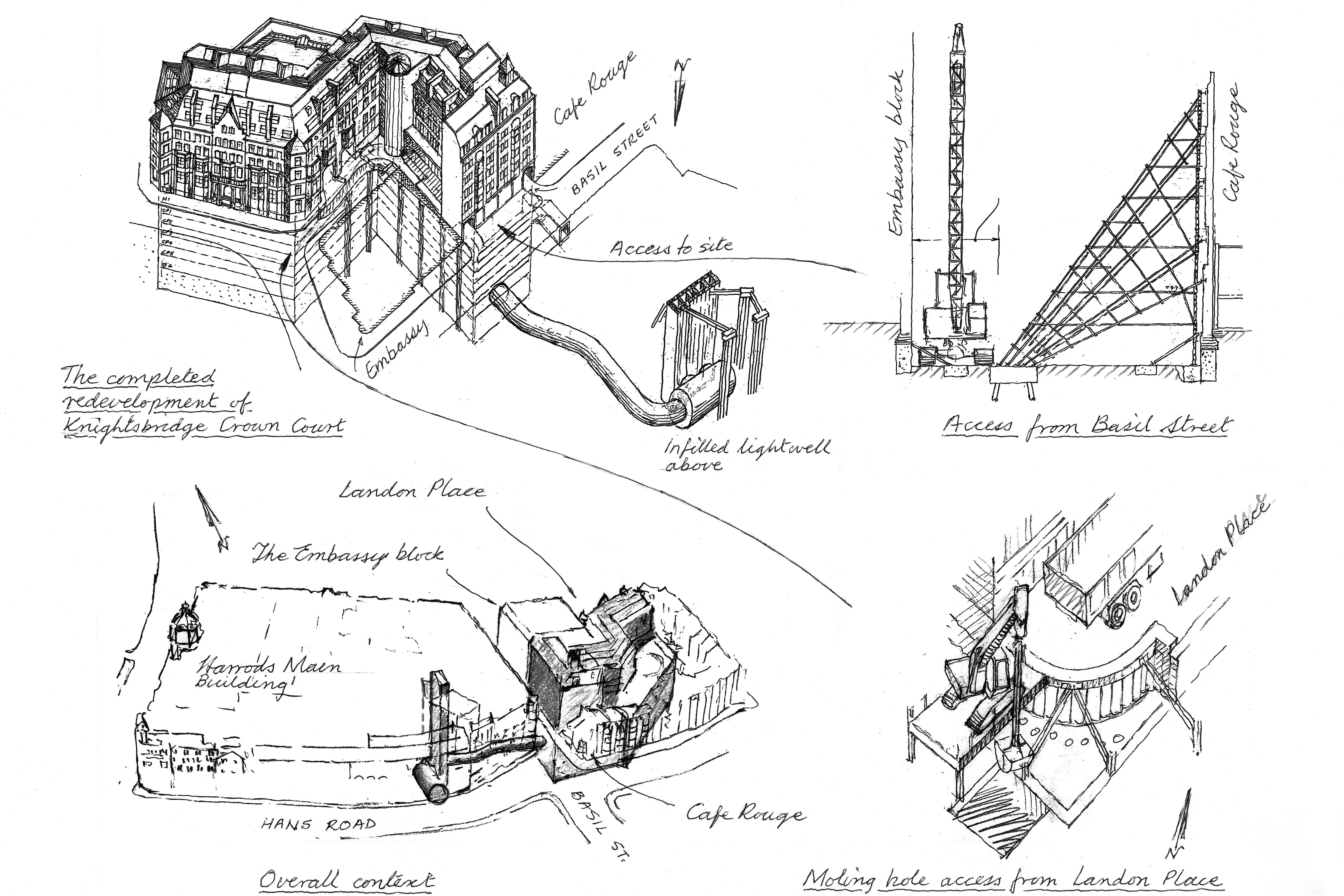 The Gallery Sketches From 50 Years Of Engineering New