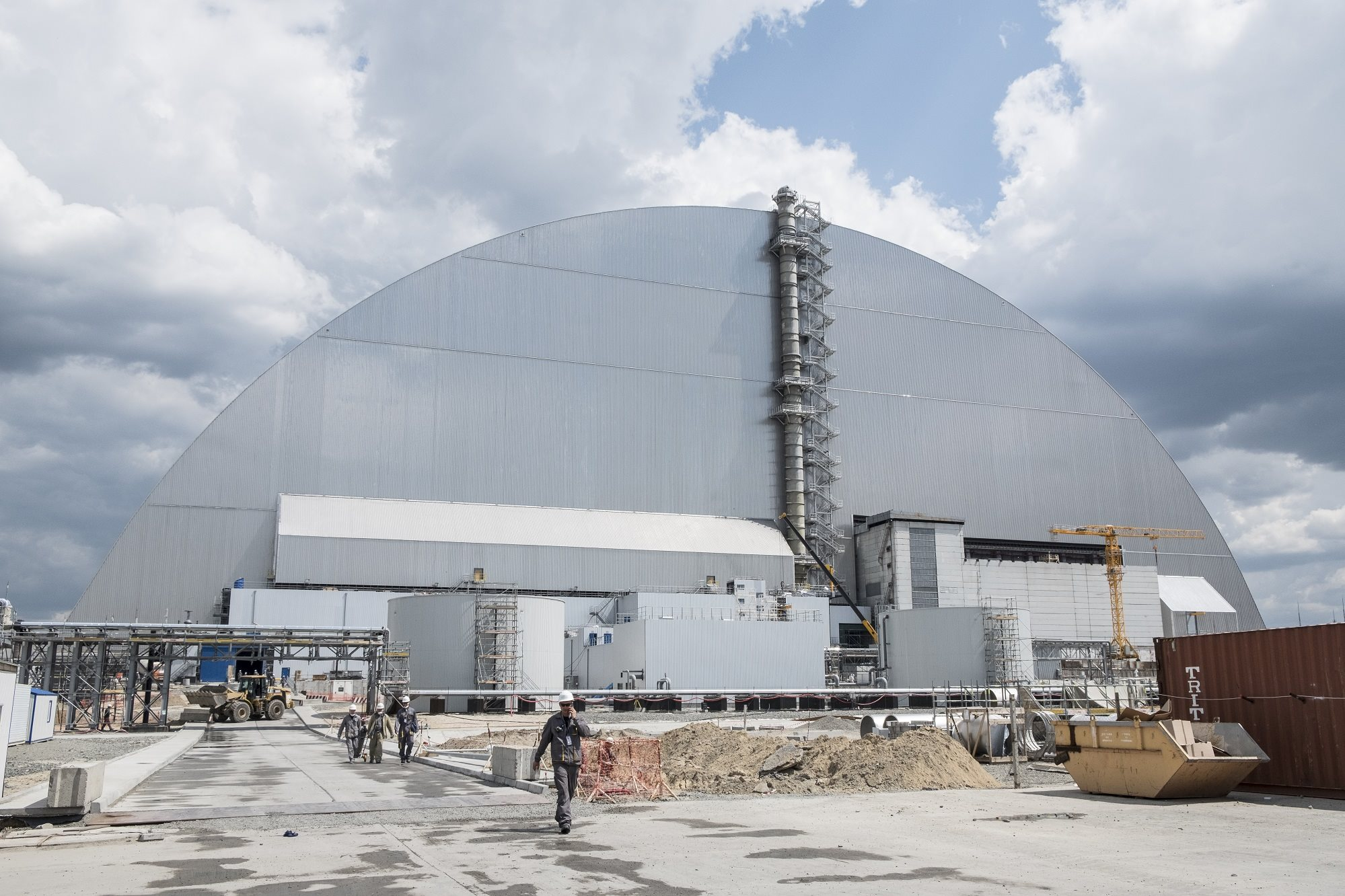 Chernobyl finished confinement system tests - New Civil Engineer