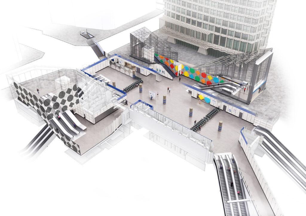Gallery Art As Wayfinding In Infrastructure New Civil Engineer