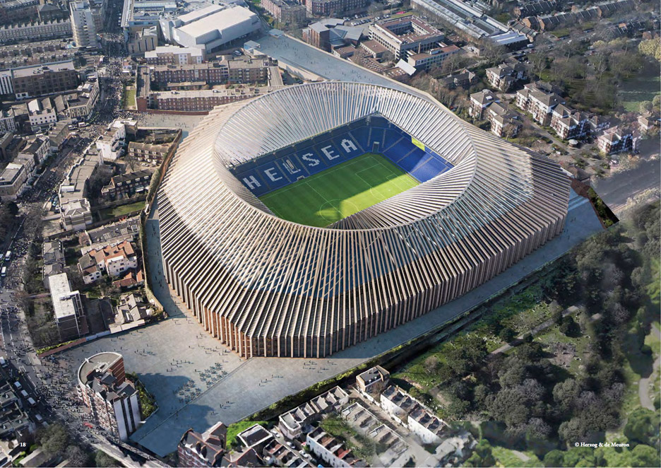 Chelsea S 1bn Stadium Could Be Revived Under Planning Rule Change New Civil Engineer