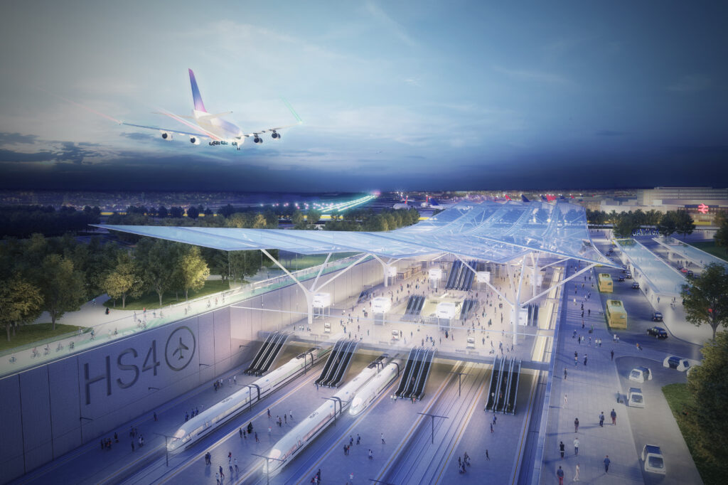 High speed rail network tabled as alternative to Heathrow expansion