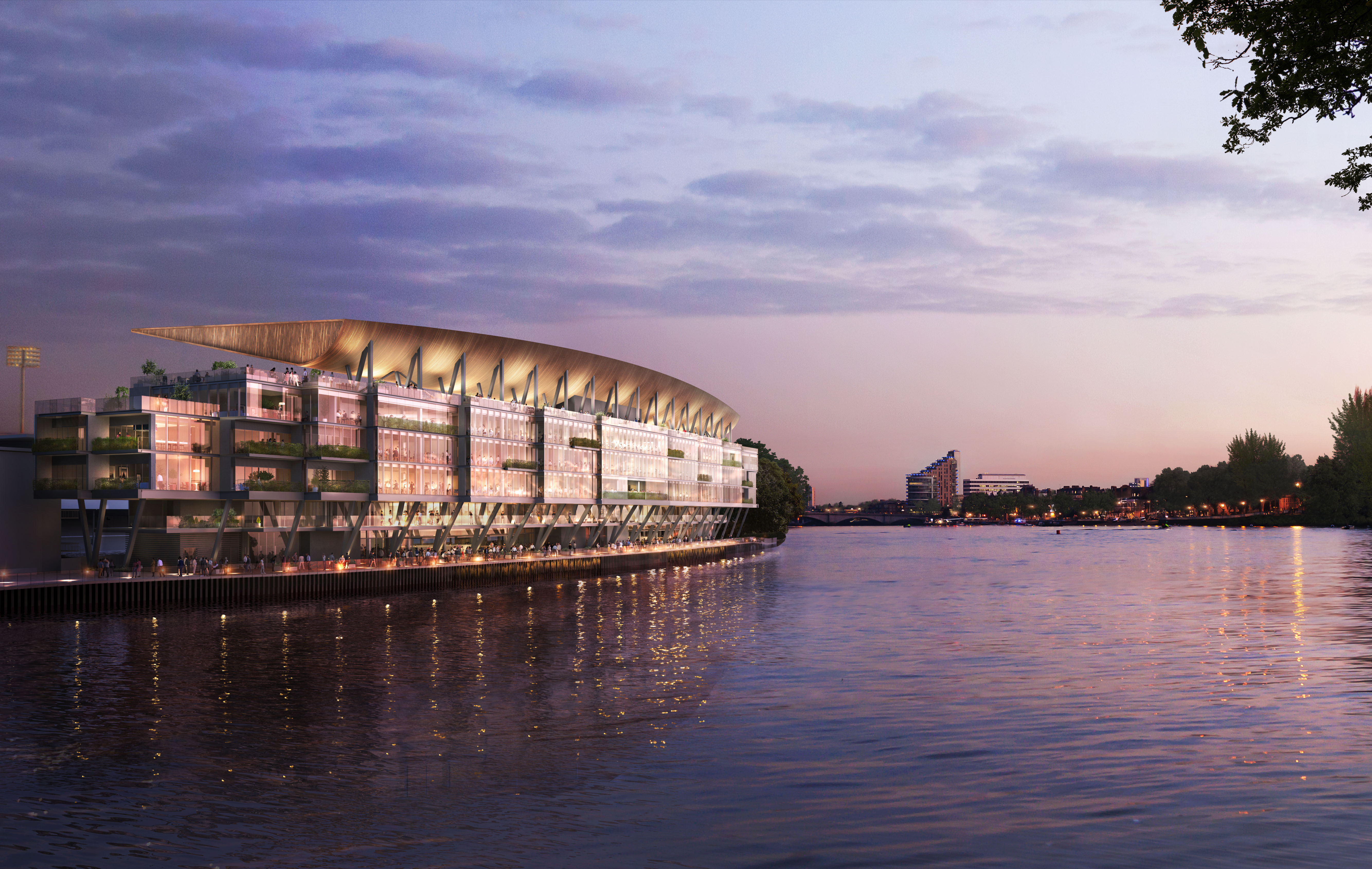Challenges Of Redeveloping Fulham S Thames Side Stadium New Civil Engineer