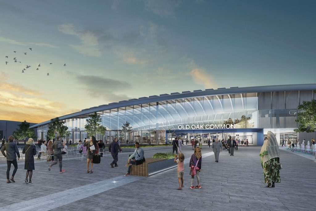 Bechtel steps aside for HS2 to sign Old Oak Common station