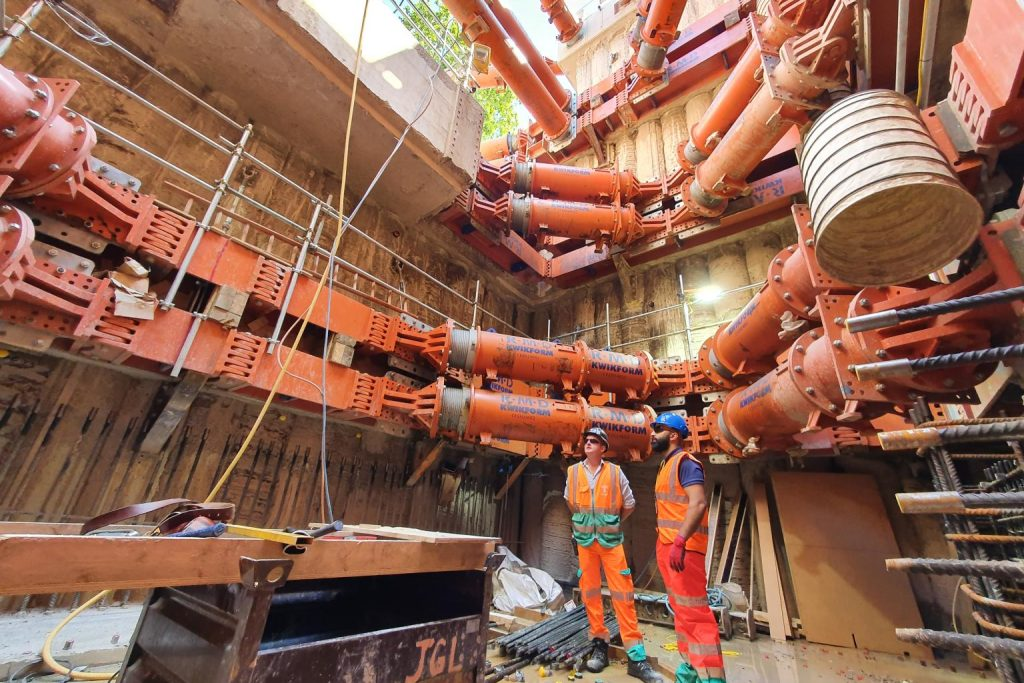 Challenges of building Tideway's Chelsea Embankment interception chamber